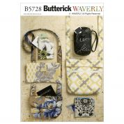 Butterick Accessories Easy Sewing Pattern 5728 Bags, Purses & Accessories