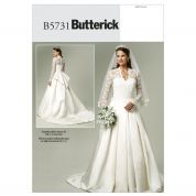 Butterick Ladies Sewing Pattern 5731 Bridal Wedding Dress