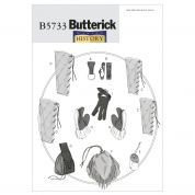 Butterick Ladies & Mens Sewing Pattern 5733 Historical Accessories