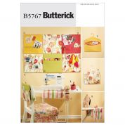 Butterick Homeware Easy Sewing Pattern 5767 Sewing Room Organizers