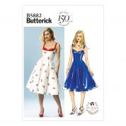 Butterick Ladies Sewing Pattern 5882 Vintage Style Dresses