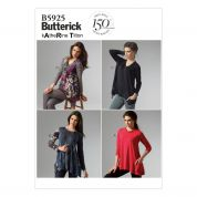 Butterick Ladies Easy Sewing Pattern 5925 Jersey Tops