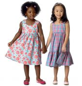 Butterick See & Sew Childrens Easy Sewing Pattern 6004 Summer Dresses