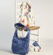 Butterick See & Sew Accessories Easy Sewing Pattern 6011 Hand Bags & Make Up Bag