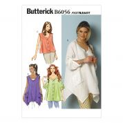 Butterick Ladies Easy Sewing Pattern 6056 Very Loose Fitting Tops
