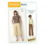 Butterick Ladies Easy Sewing Pattern 6183 Smart Top & Trousers
