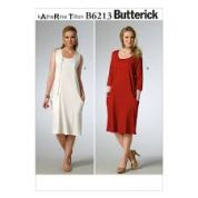 Butterick Ladies Easy Sewing Pattern 6213 Pullover Dresses with Pockets