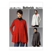Butterick Ladies Sewing Pattern 6253 Tiered Jackets