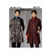 Butterick Ladies Easy Sewing Pattern 6254 Unlined Coats