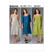 Butterick Ladies Easy Sewing Pattern 6283 Loose Fit Pullover Dress
