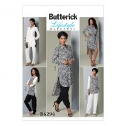 Butterick Ladies Easy Sewing Pattern 6294 Tunic Tops & Trouser Pants