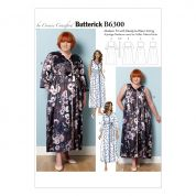 Butterick Ladies Sewing Pattern 6300 Dressing Gown, Belt & Negligee