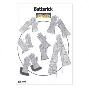 Butterick Ladies Sewing Pattern 6398 Vintage Style Gloves in Six Styles