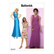 Butterick Ladies Easy Sewing Pattern 6449 Princess Seam Dresses