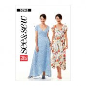 Butterick See & Sew Sewing Pattern 6543