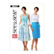 Butterick See & Sew Sewing Pattern 6547