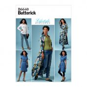 Butterick Sewing Pattern 6640