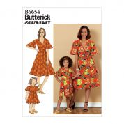 Butterick Sewing Pattern 6654
