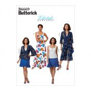 Butterick Sewing Pattern 6669