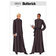 Butterick Mens Sewing Pattern 6844 Robe in 2 Styles
