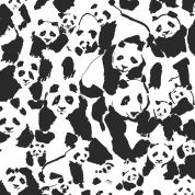 Art Gallery Fabrics Pandalings Pod Assured Cotton Canvas Dress Fabric