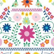 Art Gallery Fabrics Mexican Dress Morning Cotton Canvas Dress Fabric