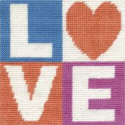DMC Childrens Beginner Tapestry Kit Love
