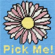 DMC Childrens Beginner Tapestry Kit Flower