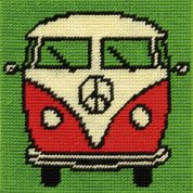 DMC Childrens Beginner Tapestry Kit Campervan