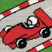 DMC Childrens Beginner Tapestry Kit Racing Car
