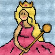 DMC Childrens Beginner Tapestry Kit Pink Princess