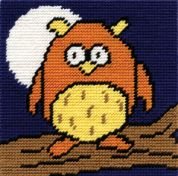 DMC Childrens Beginner Tapestry Kit Owls Hoot
