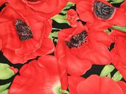 Timeless Treasures Large Poppies Quilting Fabric
