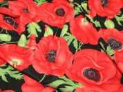 Timeless Treasures Poppies Quilting Fabric