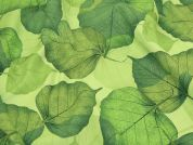 Timeless Treasures Realistic Large Leaves Quilting Fabric