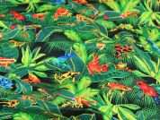 Timeless Treasures Frogs Quilting Fabric