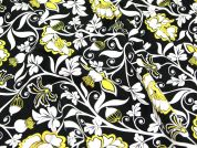 Timeless Treasures Stylised Floral Quilting Fabric