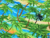Timeless Treasures Tropical Palm Trees Quilting Fabric