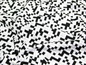 Timeless Treasures Crossword Puzzle Quilting Fabric