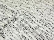 Timeless Treasures Musical Notes Quilting Fabric