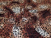 Polyester Crepe Fabric  Brown