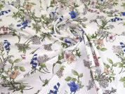 Polyester Crepe Fabric  Multicoloured