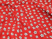 Timeless Treasures Footballs Sport Quilting Fabric