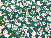 Timeless Treasures Poker Chips & Cards Quilting Fabric