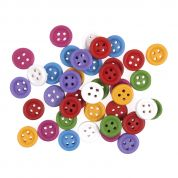Assorted Buttons  Assorted Colours