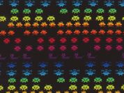 Timeless Treasures Space Aliens Arcade Game Poplin Quilting Fabric