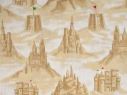 Timeless Treasures Sandcastles Poplin Quilting Fabric