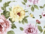 Timeless Treasures Watercolour Floral Poplin Quilting Fabric