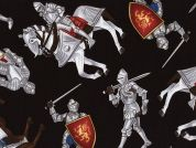 Timeless Treasures Knights Armour Poplin Quilting Fabric