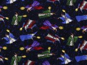 Timeless Treasures Wizards Poplin Quilting Fabric